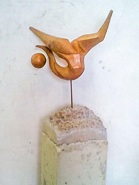 Sculpture en terre cuite lgèreté