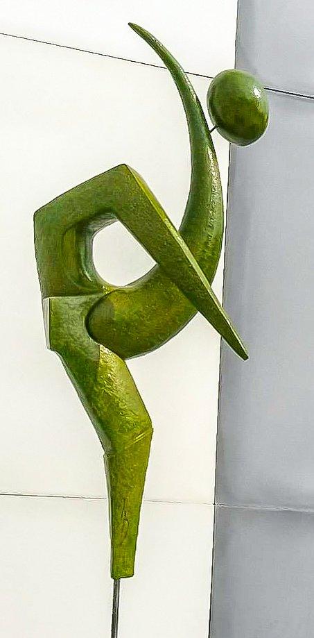 Sculpture en terre cuite précieuse